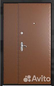 железная дверь в квартиру клин