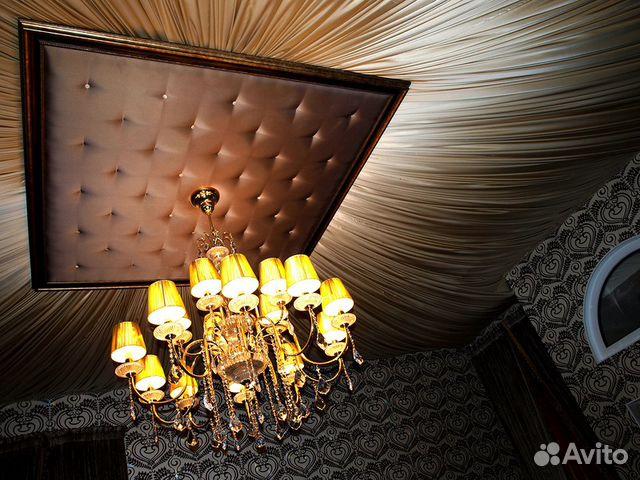 Драпировка потолка тканью своими руками мастер класс фото 73