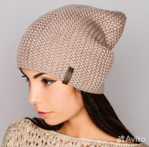 Вязанных женских шапок