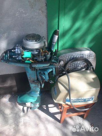 Лодочный мотор ветерок 8 м продам