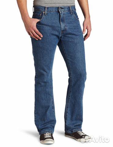 Bootcut jeans hombre