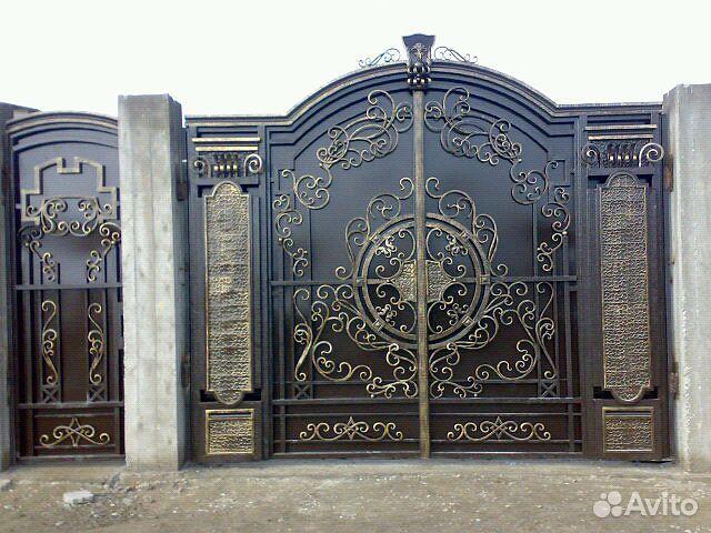 Авито нальчик жедезные ворота ворота для дачи под профнастил спб