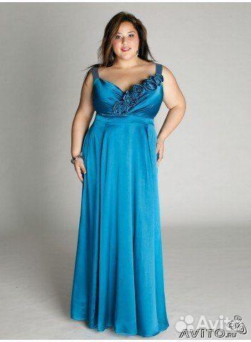 Красивые вечерние платья для полных женщин с