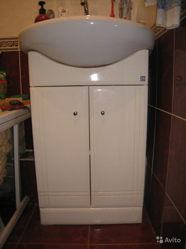 раковина с тумбой в ванную комнату 80 см фото