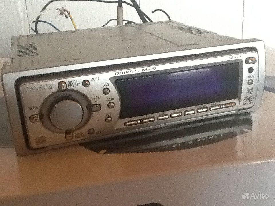 Магнитола sony CDX-F7500