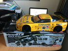 Модель Kyosho GT2 GP RS Corvette 2007 C6R 4WD RT