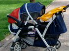 Коляска для двойни chicco together twin stroller K