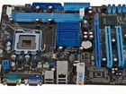775 сокет. DDR3. Asus p41t-m lx2/gb