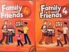 Family and Friends 4 Workbook+Class book+CD