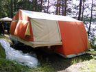 Палатка и веранда на прицеп скиф