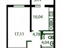1-к. квартира, 40м², 14/16эт.