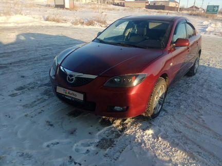 Mazda 3 1.6МТ, 2008, 163000км объявление продам