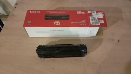 Картридж canon 725 объявление продам