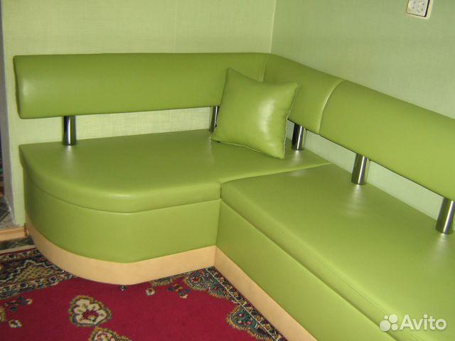 Кухонный уголок зеленый