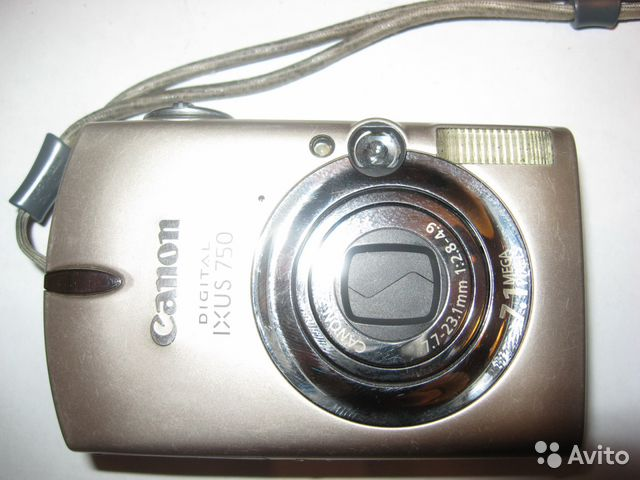 Canon PC1169 Digital Ixus750 7.1Mpx— фотография №1
