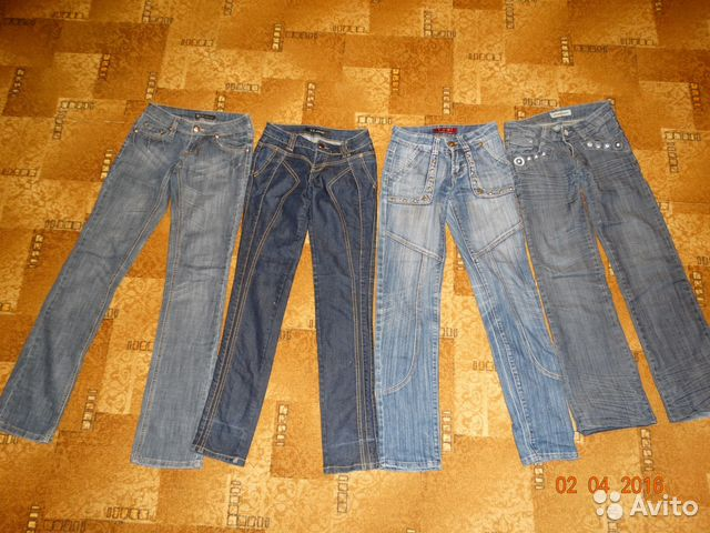 25 размер джинсы женские