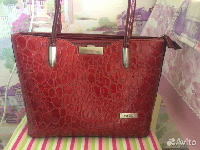 d0b2aa2d87b6 Женская сумка tosoco купить в Ярославской области на Avito ...