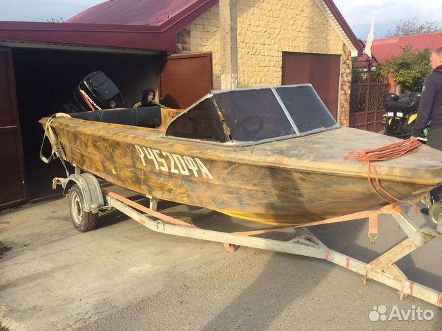 пластиковые лодки б у на авито