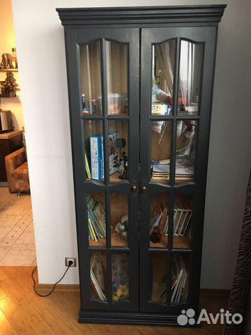 Книжный шкаф витрина купить в москве на avito - объявления н.