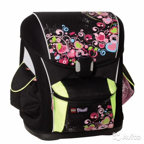 Рюкзак школьный lego для девочек