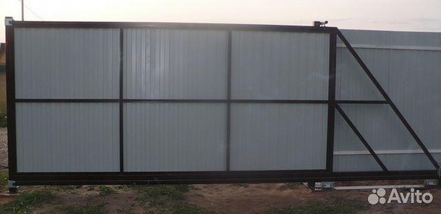 Откатные ворота на авито отъездные автоматические ворота харьков