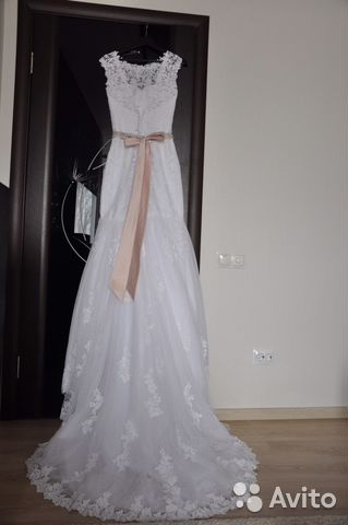 Щекино свадебное платье