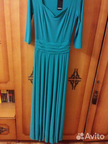 2656d54e058 Длинное новое тёплое платье Colambetta