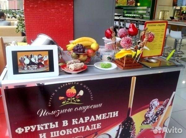 Комплект Карамельные яблочки и фрукты в шоколаде— фотография №3