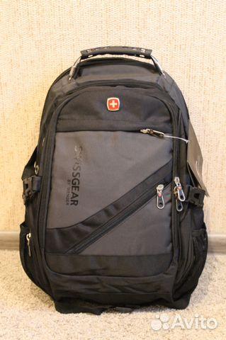 de5fe4a216f7 Рюкзак городской Swissgear серый   Festima.Ru - Мониторинг объявлений
