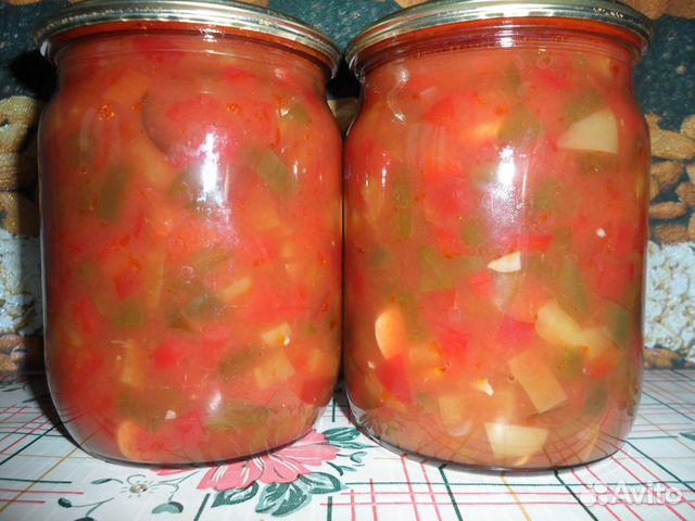 заготовки солянка из капусты