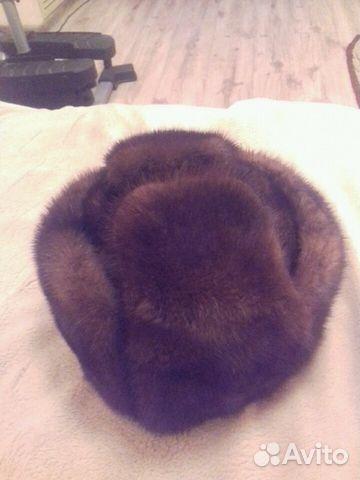 Норковая шапка мужская 89243190612 купить 1
