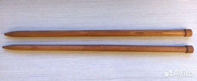 Спицы вязальные 12 мм