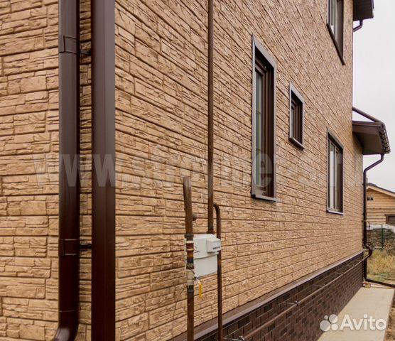 Отделка фасадов(Сайдинг,блок хаус,имитация бруса) купить 2