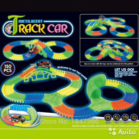 7f50711a0eddc Magic tracks светящийся гибкий трек - Личные вещи, Товары для детей ...