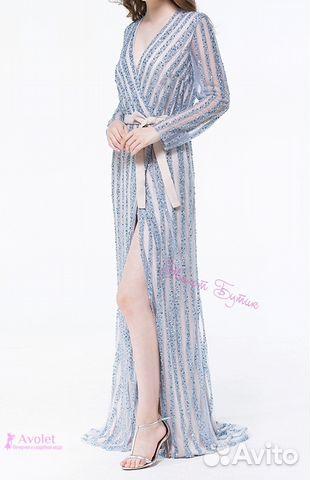 2b75de20d5e Люкс вечернее платье халат