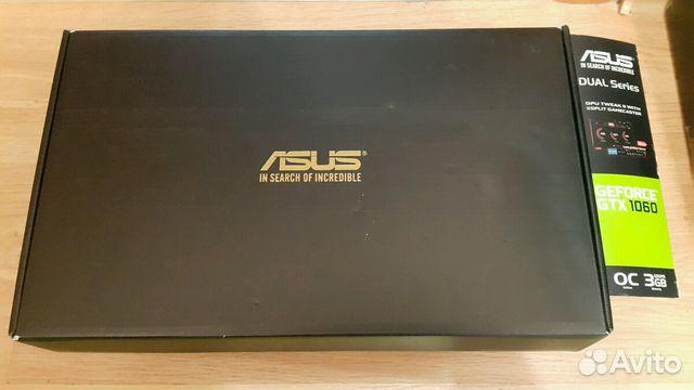Видеокарта Asus Nvidia GTX 1060 3GB OC VER 89040042358 купить 3
