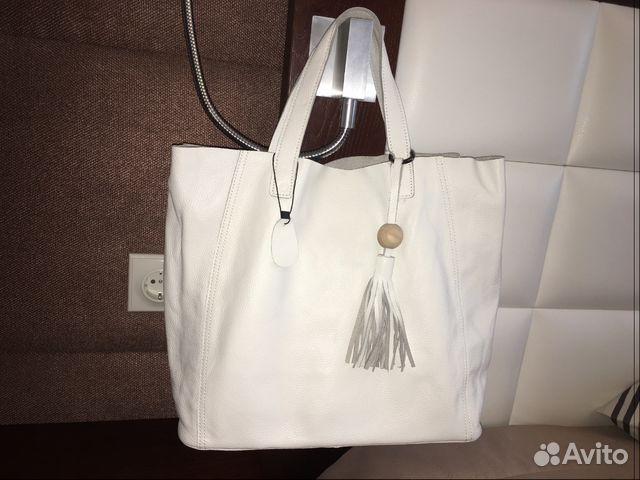 9165813c6632 Новая кожаная сумка купить в Краснодарском крае на Avito ...