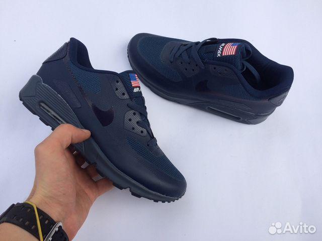 29891294 Кроссовки Nike Air Max 90 Hyperfuse синие мужские купить в Москве на ...