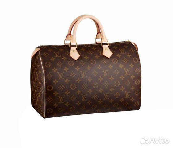 7bd77ceea2ff Женская сумка Louis Vuitton Speedy 35 арт.070-5 купить в Москве на ...
