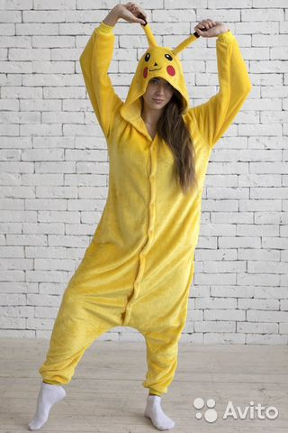 Пижама кигуруми пикачу новая  57ef90e5dbf91