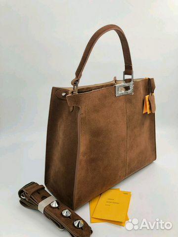 c248d1cb3990 Кожаная сумка Fendi   Festima.Ru - Мониторинг объявлений