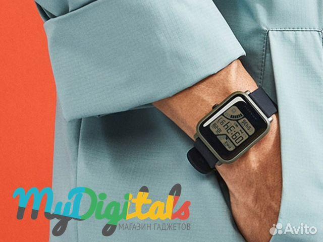 c6a77121 Умные фитнес часы Amazfit Bip Зеленые с гарантией— фотография №1