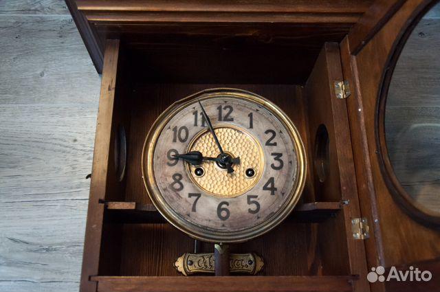 Часы настенные Gustav Becker, старинные. 1912 г купить 5