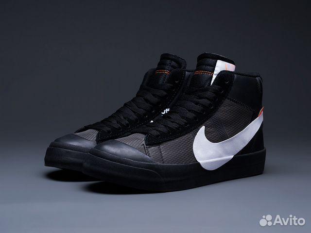 37d95a873fd2 Nike X Off White Blazer Mid Black