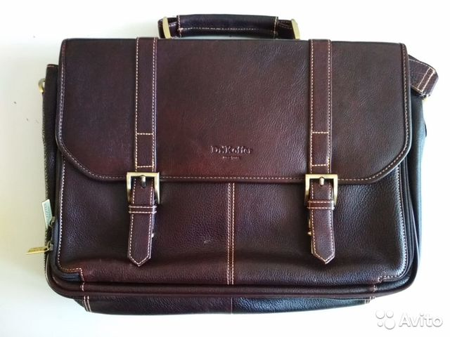 bd5669f4a028 Мужская сумка, портфель Dr.Koffer (кожа Marlboro) купить в ...