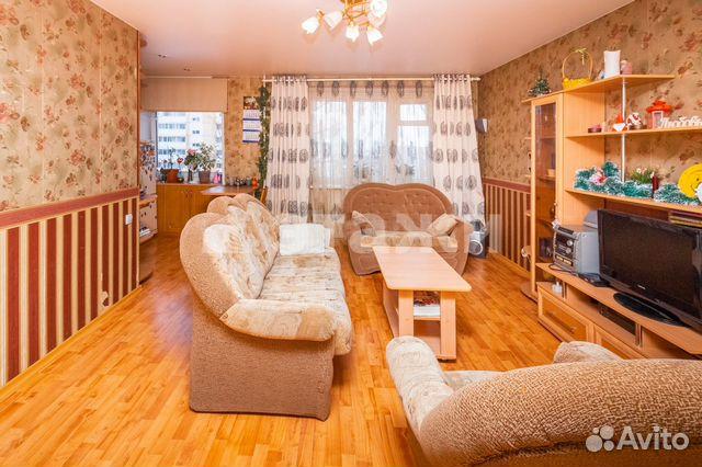 Продается трехкомнатная квартира за 3 200 000 рублей. Калинина, 51а.