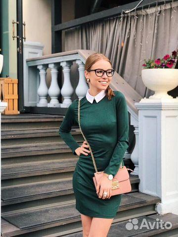 12912f64321 Трикотажное платье короткое купить в Красноярском крае на Avito ...