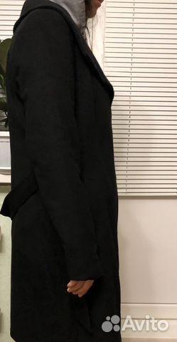 Пальто шерстяное global essentials (42-44) 89032636918 купить 2
