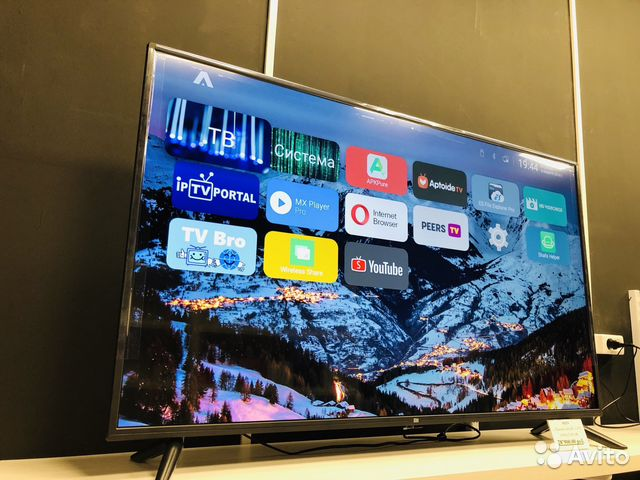 Телевизор 4А 50 4К На Русском языке купить 3
