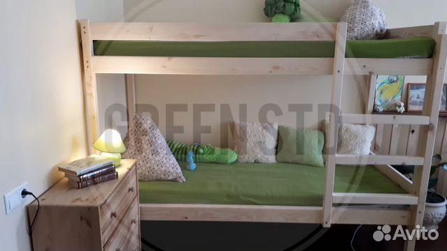 Кровать двухъярусная 89771001018 купить 2
